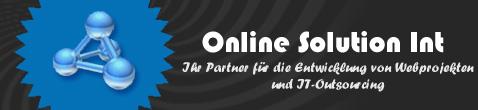Online Solution Int - Webentwicklung